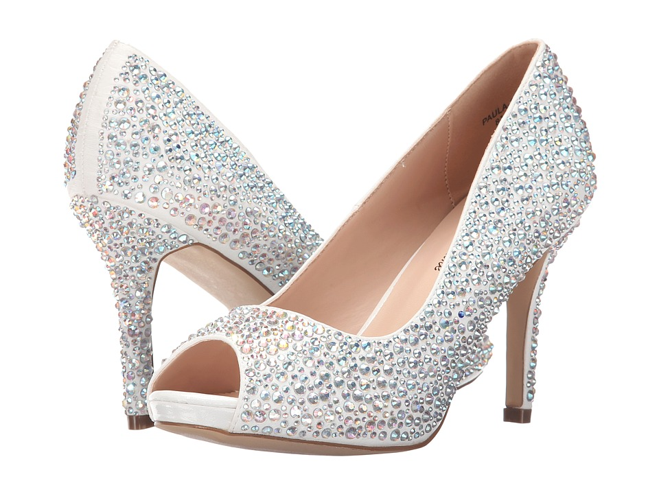 Lauren Lorraine Paula 3 White Candy Womens Sandals