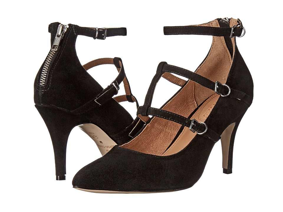 Corso Como Carter Black Suede High Heels