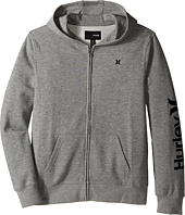Hurley Kids - One & Only Full Zip Hoodie (Big Kids)