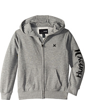 Hurley Kids - One & Only Front Zip Hoodie (Little Kids)