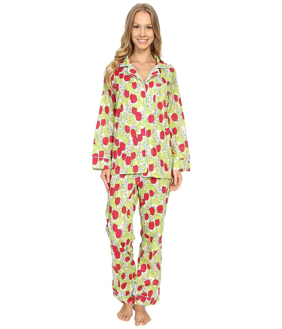 BedHead Classic Pajamas Voile Rouge Holland Tulip Womens Pajama Sets