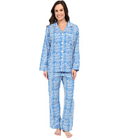 BedHead - Poplin Notch Collar PJ
