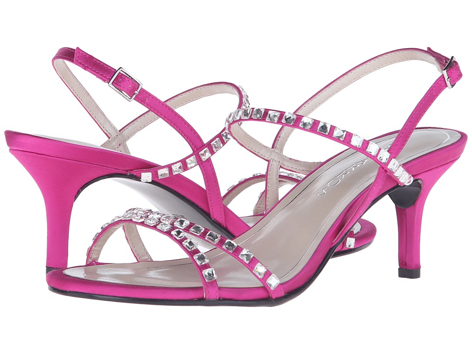 Caparros Christine Magenta New Satin Womens Sandals