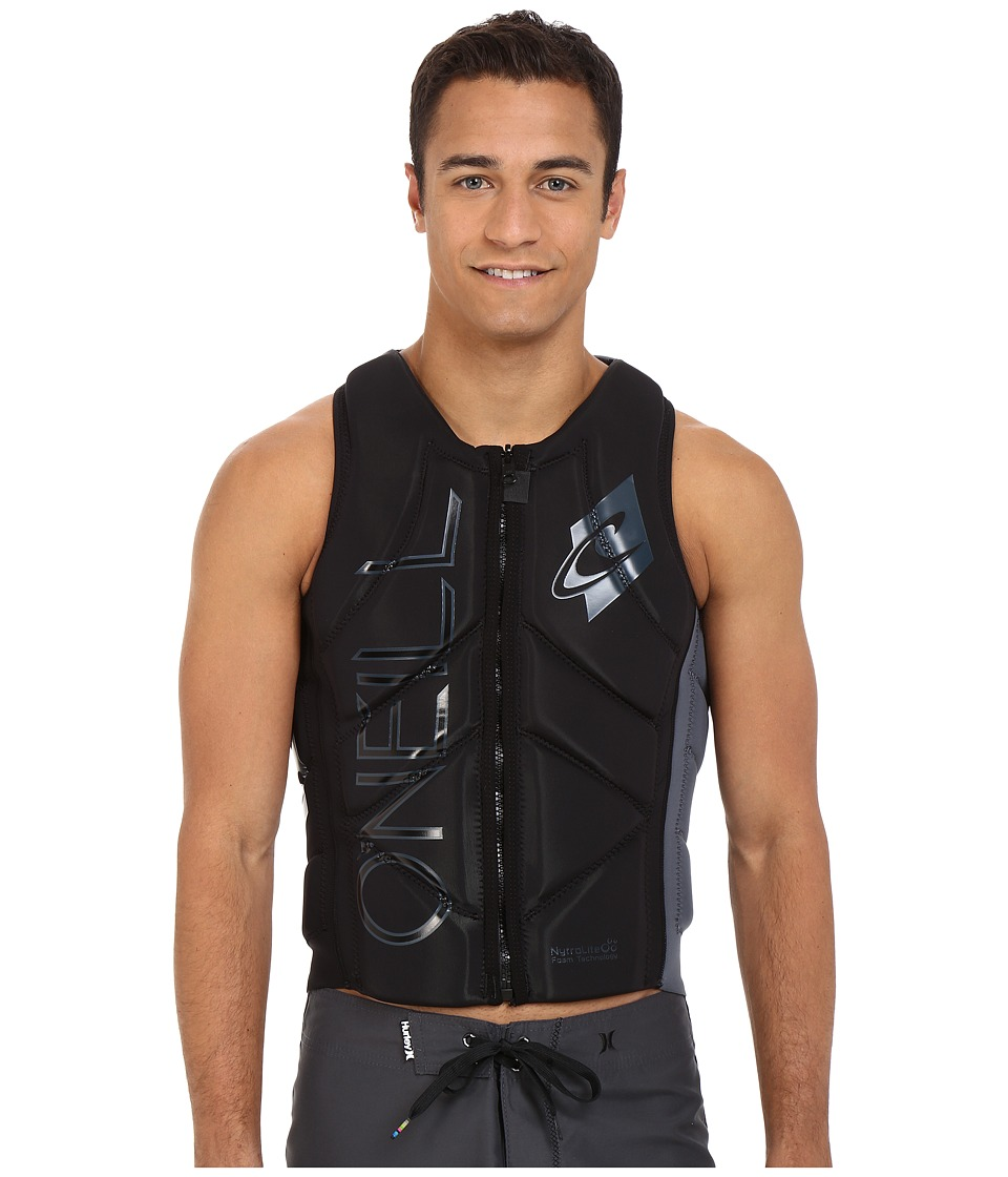 ONeill Slasher Comp Vest Black/Graphite Mens Swimwear