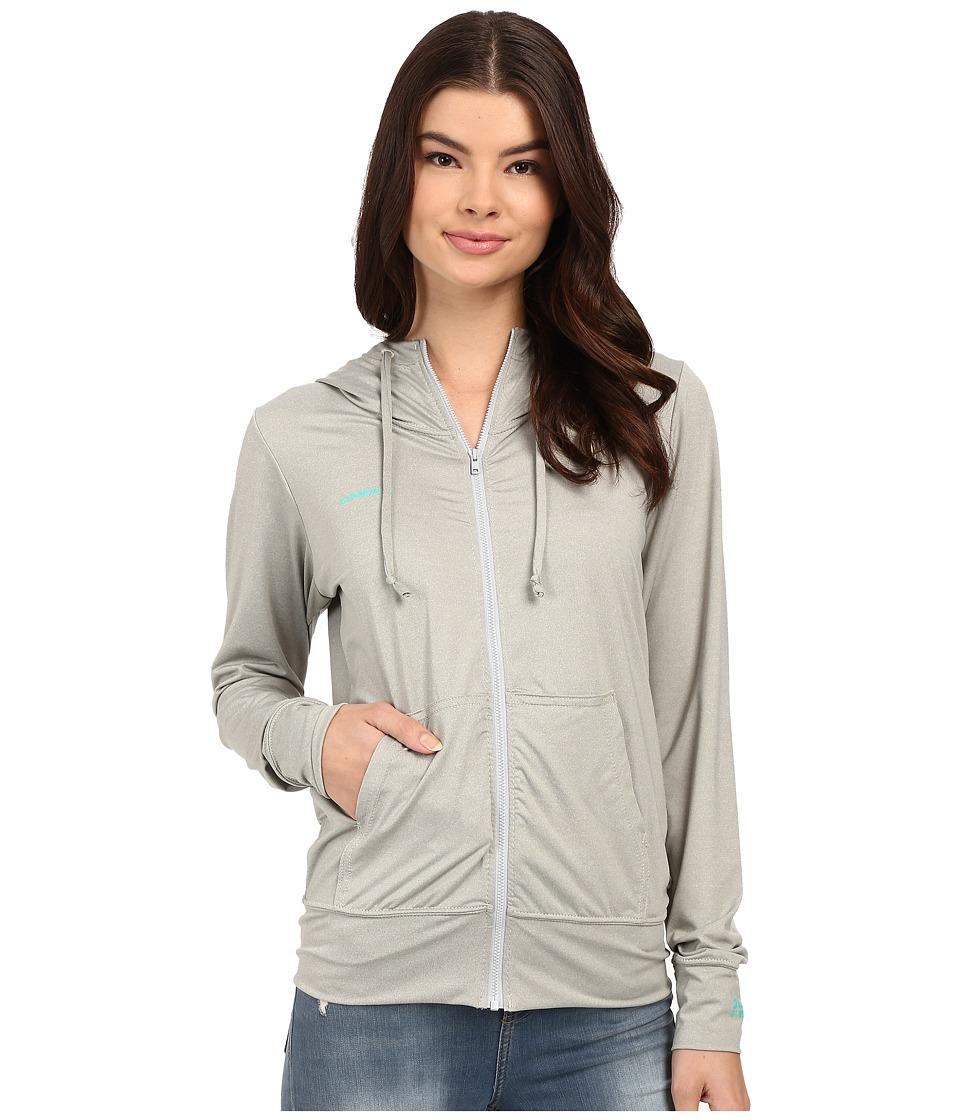 ONeill 24 7 Hybrid Zip Hoodie Lunar Womens Sweatshirt