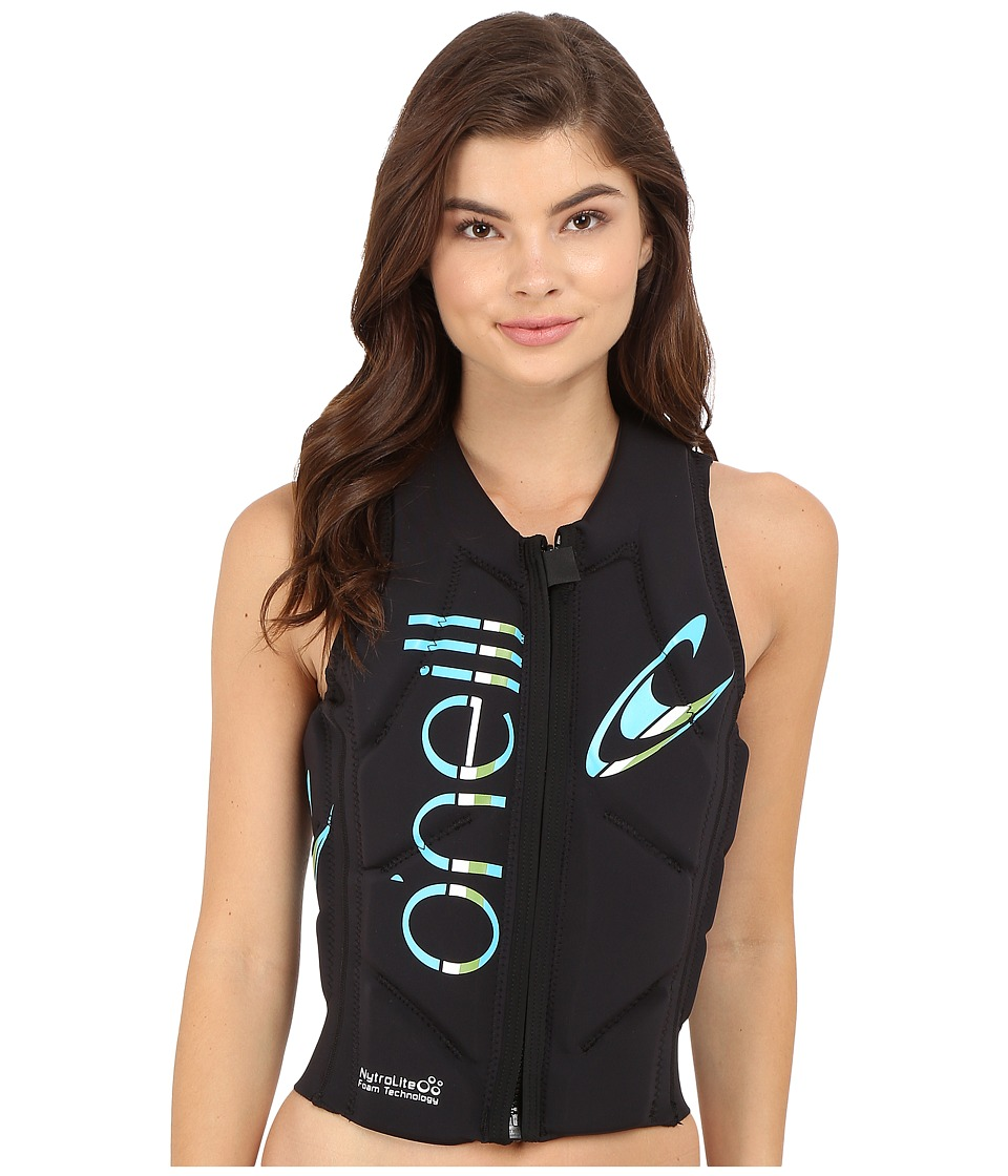 ONeill Slasher Comp Vest Black/Black Womens Vest