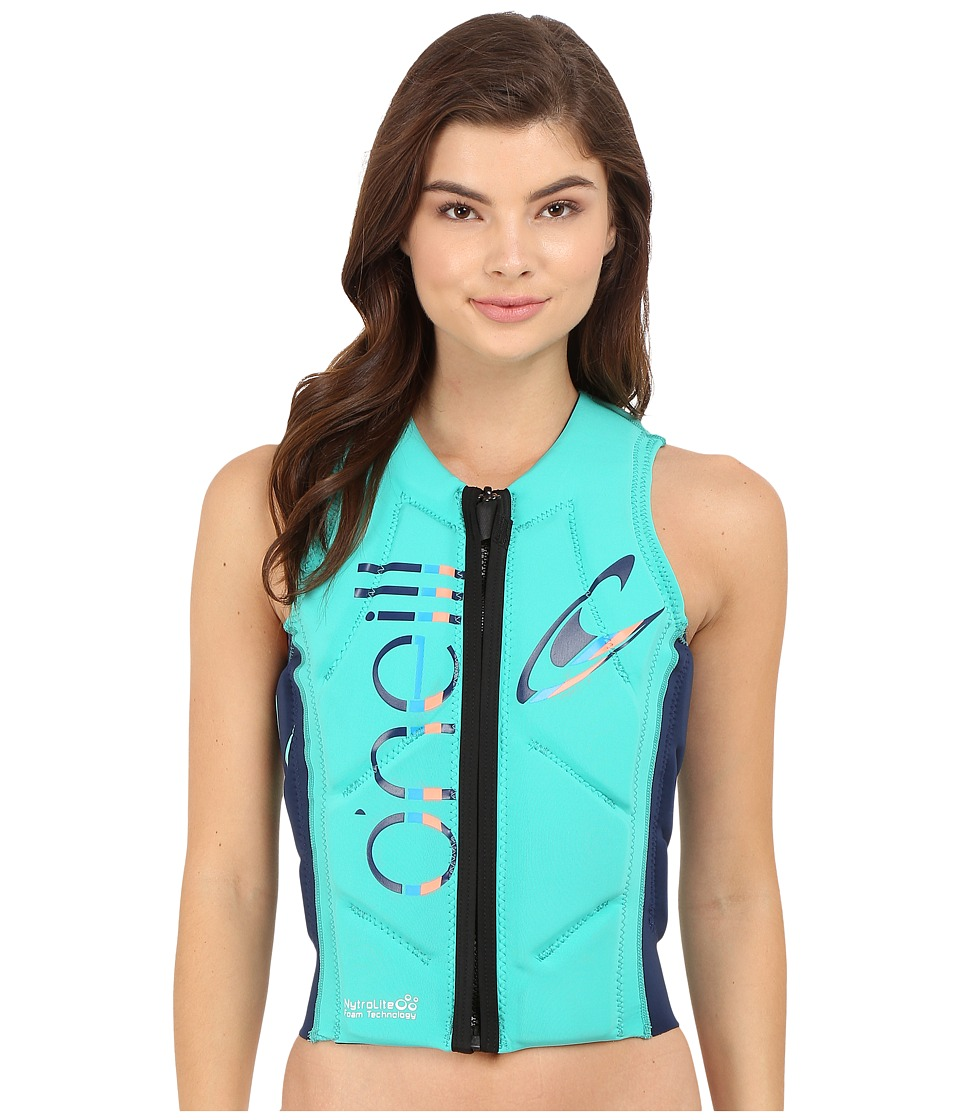 ONeill Slasher Comp Vest Seaglass/Navy Womens Vest