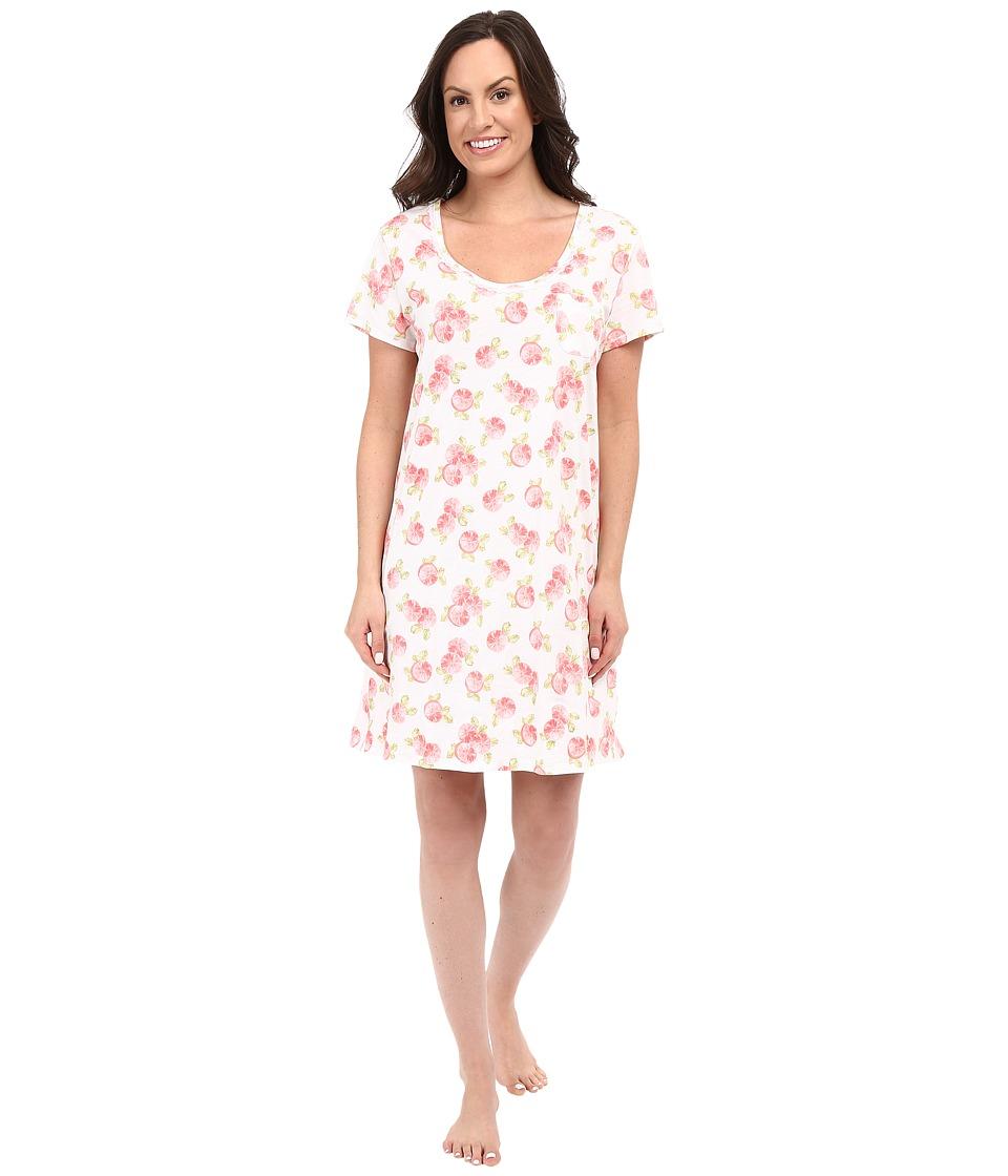 Carole Hochman Key Item Sleepshirt Fruits Womens Pajama