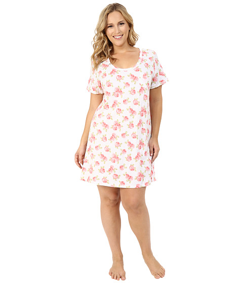 Carole Hochman Plus Size Key Item Sleepshirt
