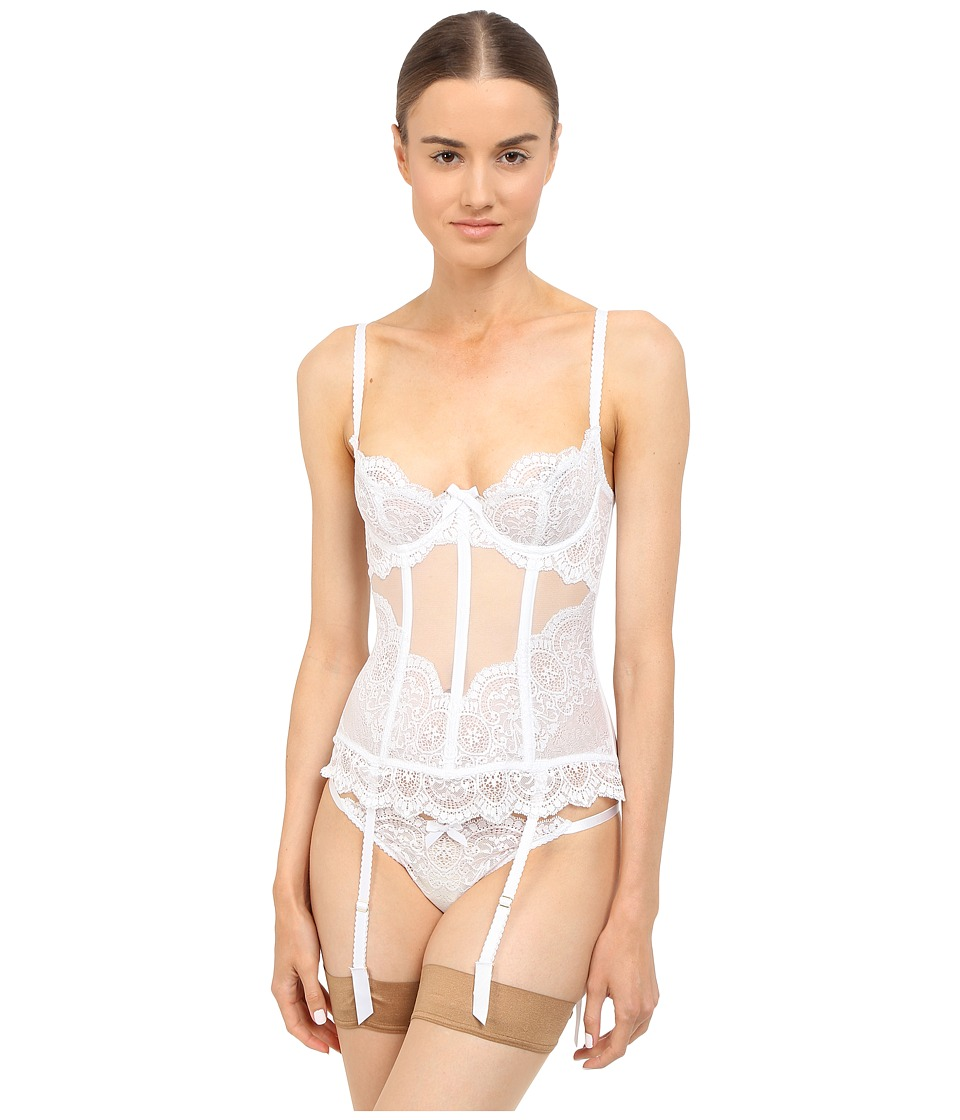 LAgent by Agent Provocateur - Vanesa Basque (White) Womens Bra