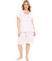 Carole Hochman - Plus Size Key Item Bermuda Pajama