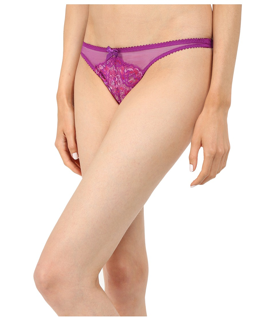 LAgent by Agent Provocateur Adlina Thong Amethyst/Pink Womens Lingerie