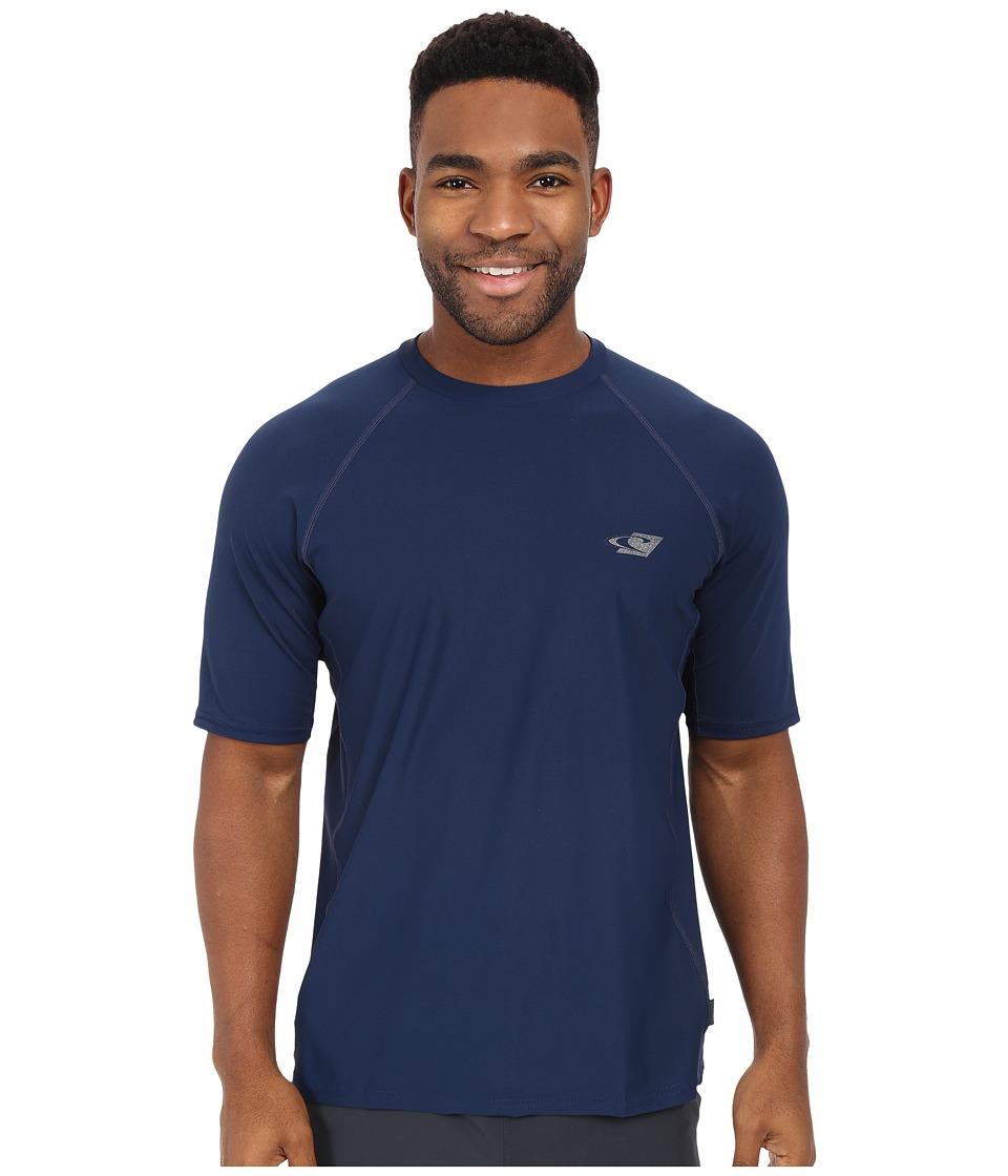 ONeill 24 7 Tech Short Sleeve Crew Navy Mens Swimwear