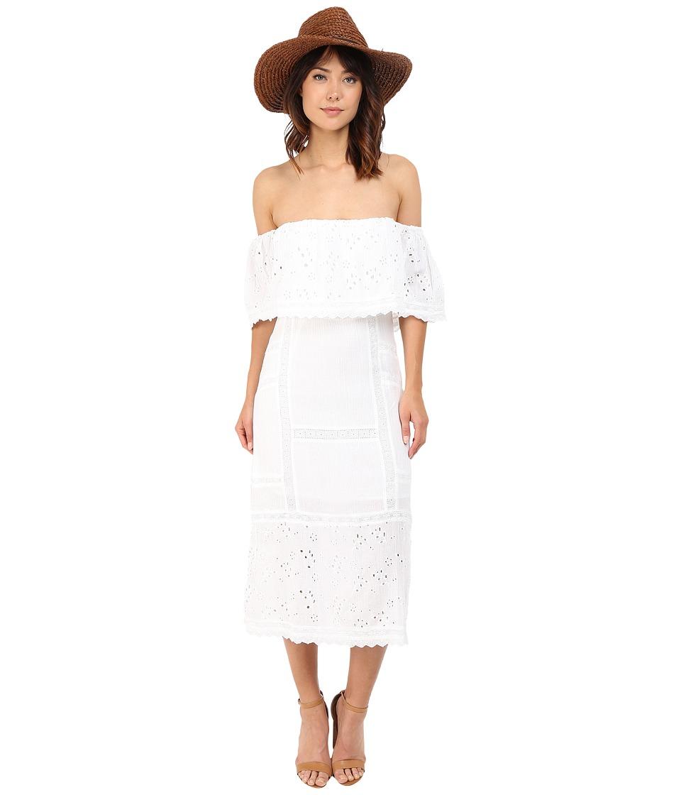 Free People Most Beautiful Midi Ivory Womens Dress