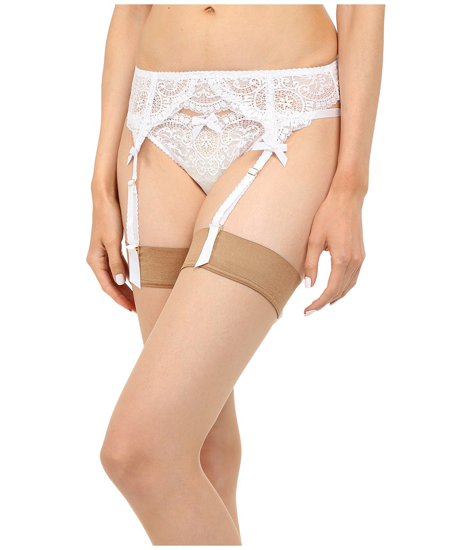 LAgent by Agent Provocateur - Vanesa Suspender (White) Womens Active Sets