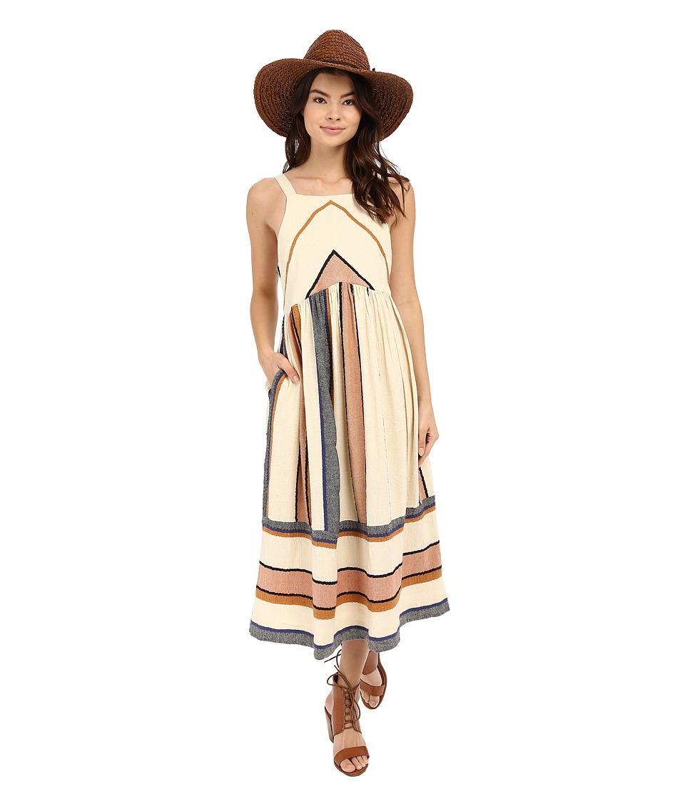 Free People Bloom Dress Neutral Combo Womens Dress