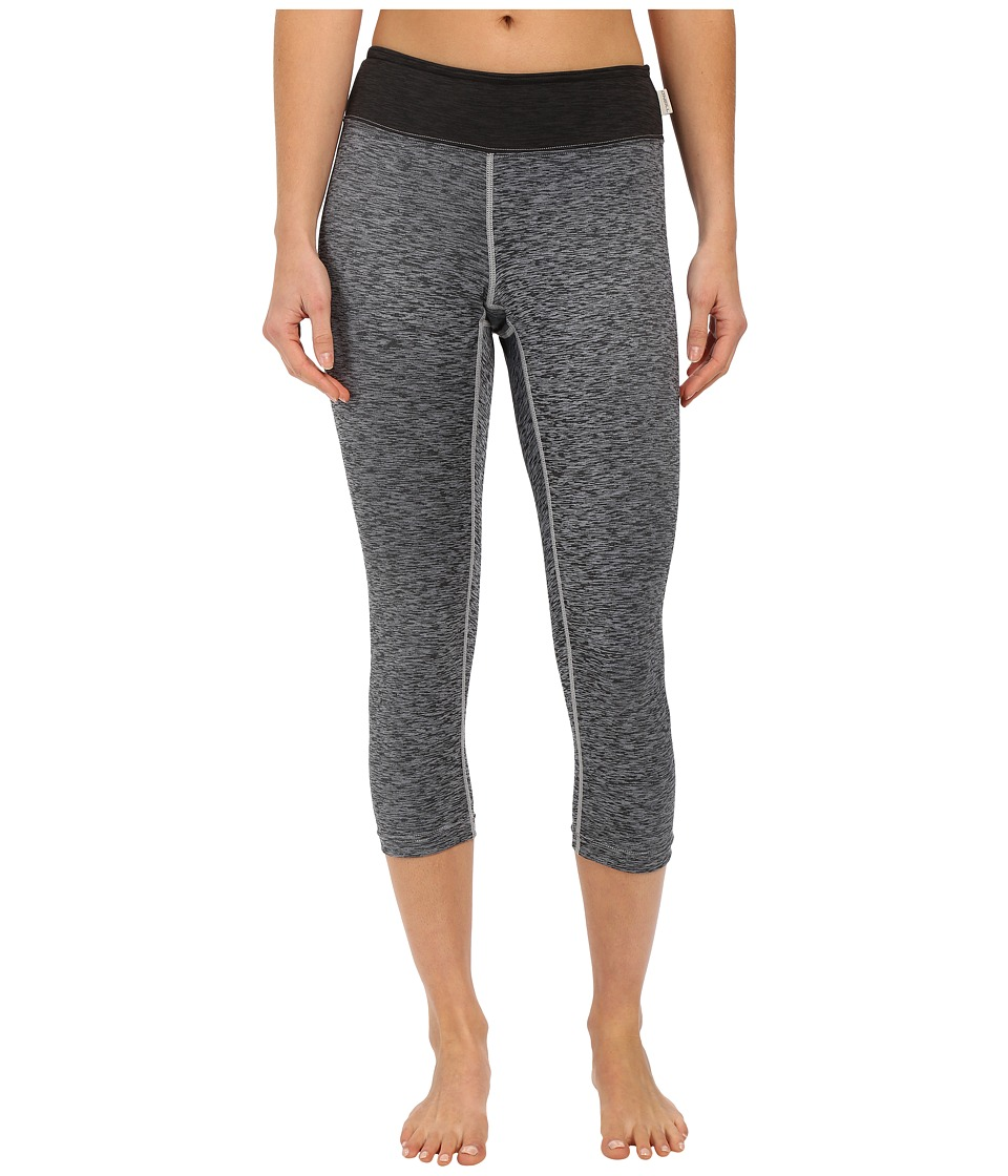 ONeill 24 7 Hybrid Surf Capris Graphite/Black Womens Swimwear