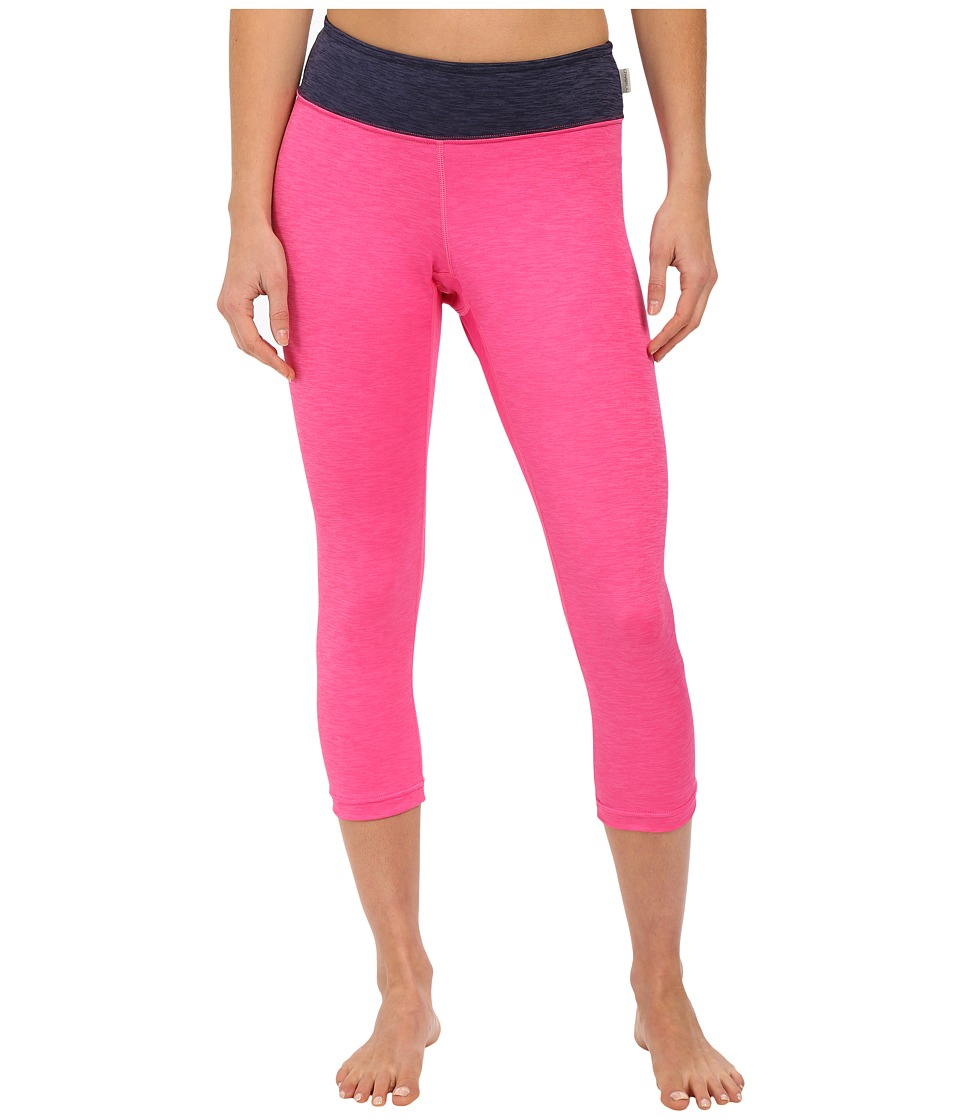 ONeill 24 7 Hybrid Surf Capris Berry/Navy Womens Swimwear