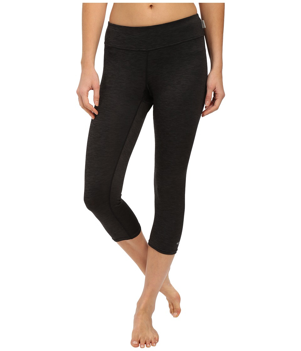 ONeill 24 7 Hybrid Surf Capris Black/Black Womens Swimwear