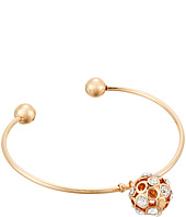 GUESS - C Bangle with Stone Ball Charm Bracelet