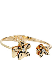 GUESS - Sculted Flower Bypass Hinge Bracelet
