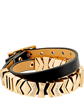 GUESS - Chevron Wrap Buckle Bracelet