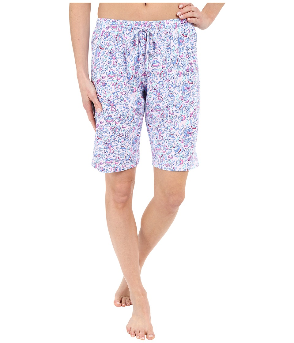 Jockey Bermuda Shorts Multi Floral Womens Pajama