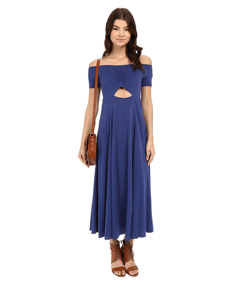 Free People Dance with Me Dress Cobalt Womens Dress