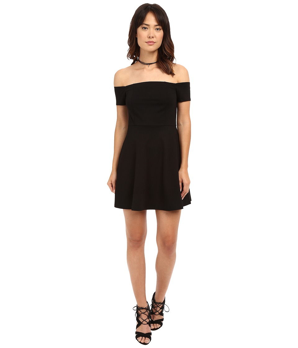 Free People Black Mambo Mini Dress Black Womens Dress