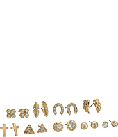 GUESS - Mixed 9-Pair Stud Earrings Set