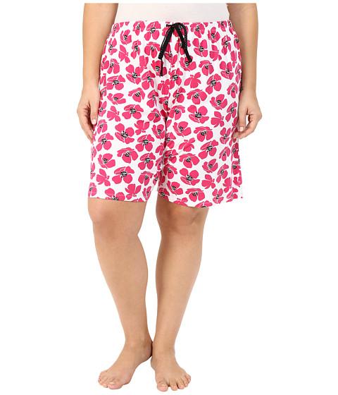 Jockey Plus Size Printed Bermuda Shorts
