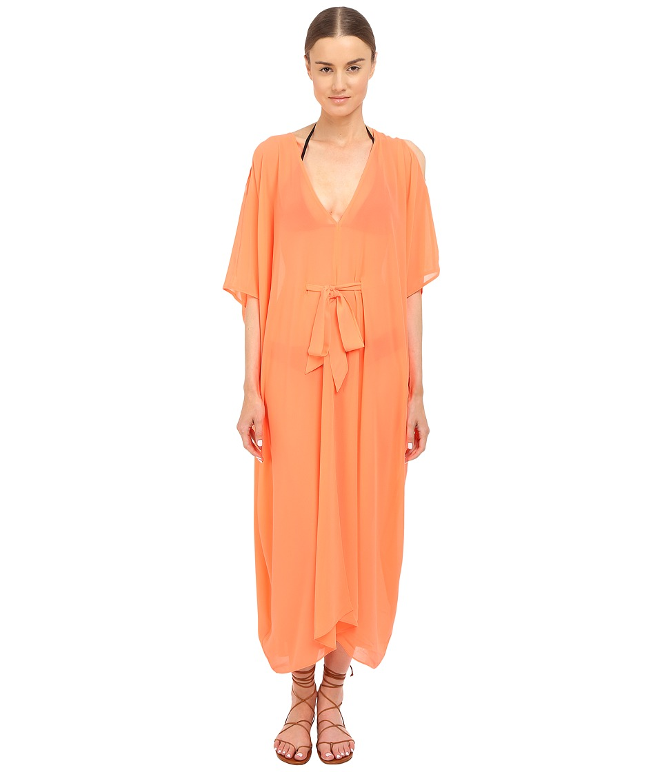 LAgent by Agent Provocateur Holly Cover Up Neon Melon Womens Swimwear