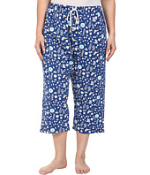Jockey - Plus Size Printed Capri Pants