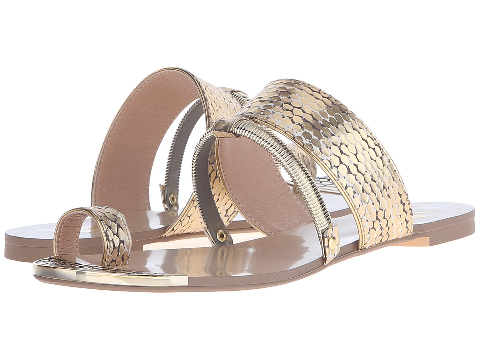 LFL by Lust For Life Dash Gold Snake Womens Sandals