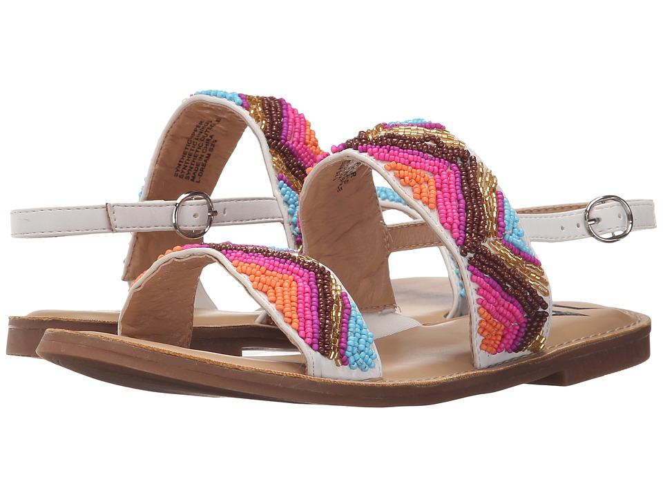 LFL by Lust For Life Dream White Multi Womens Sandals