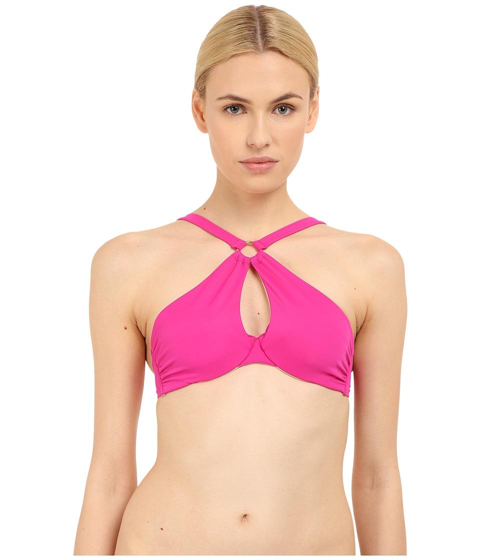 LAgent by Agent Provocateur Adrina Bikini Top Pink Womens Swimwear