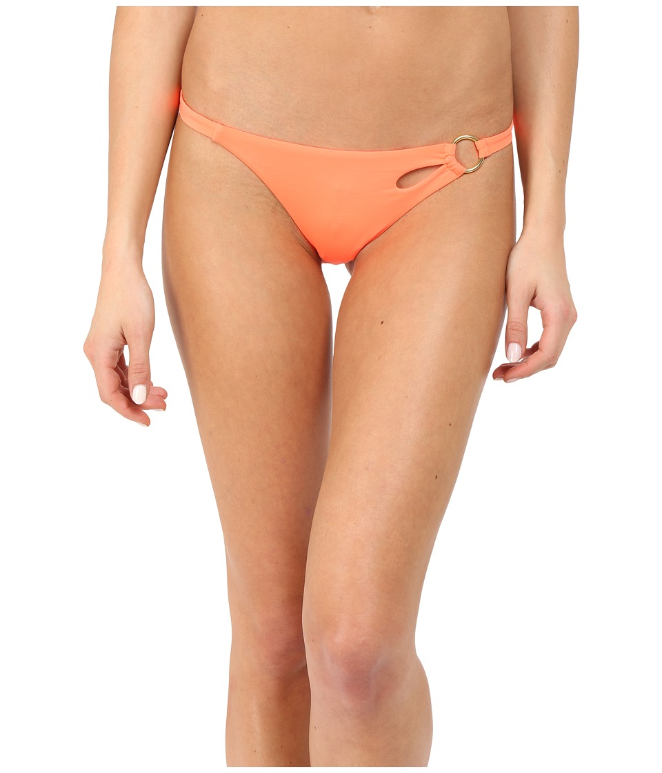 LAgent by Agent Provocateur Adrina Bikini Bottom Neon Melon Womens Swimwear