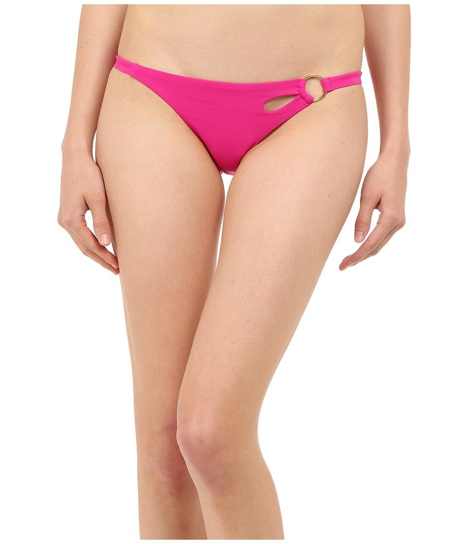 LAgent by Agent Provocateur Adrina Bikini Bottom Pink Womens Swimwear
