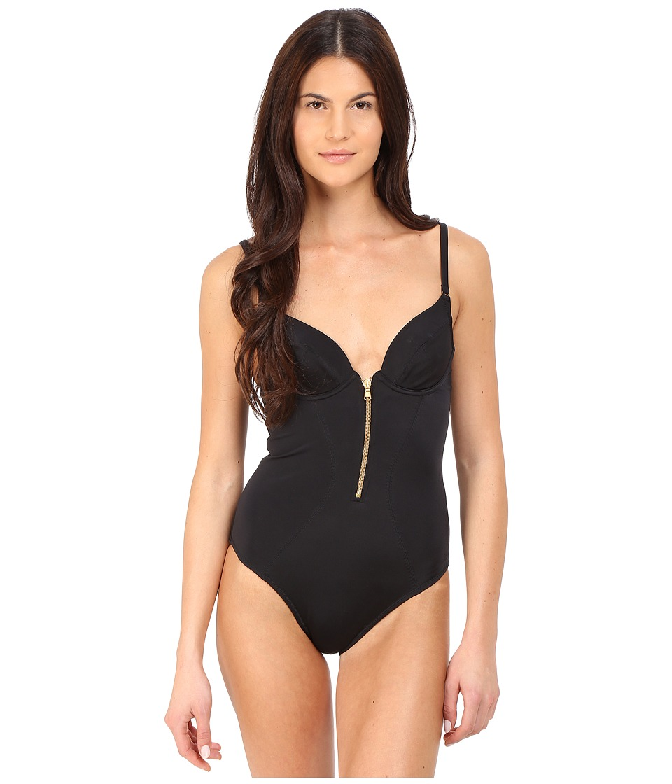 LAgent by Agent Provocateur Allecra Swimsuit Black Womens Swimwear Sets