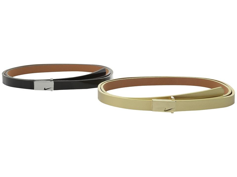 Nike Sleek Modern 2 for 1 Skinny (Black/Gold) Women