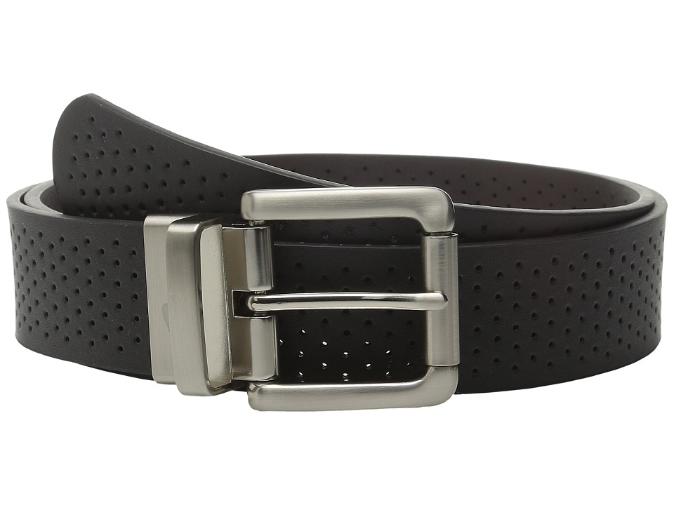 Nike Wide Perforated Reversible Black/Brown Womens Belts