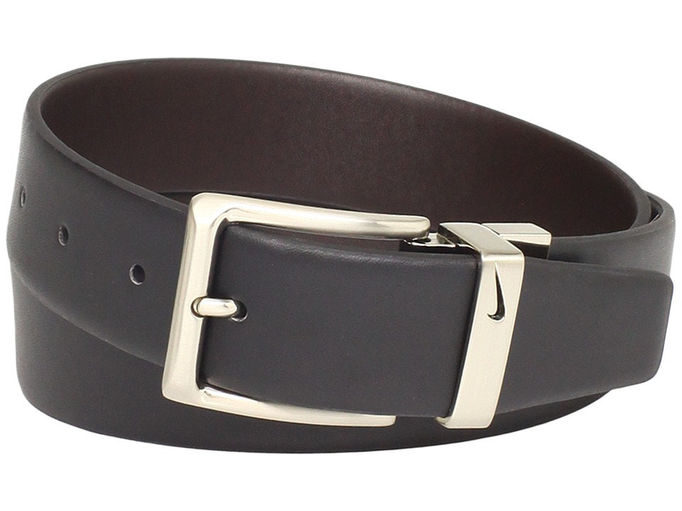 Belts amp belt buckles nike reversible dress black brown men s