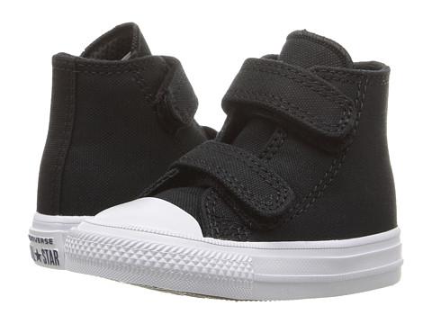 Converse Kids Chuck II Hi 2V (Infant/Toddler) - Black/White/Navy