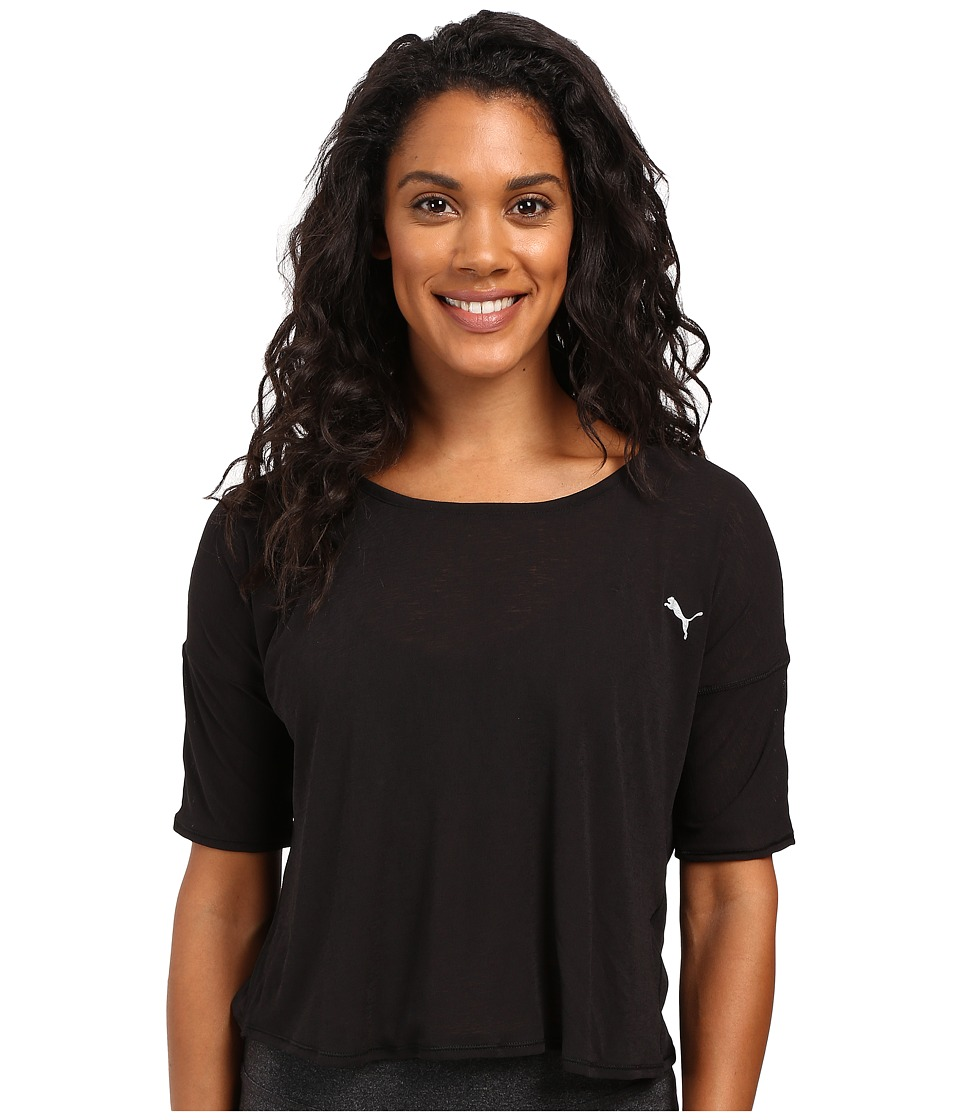 PUMA - The Good Life Tee (PUMA Black) Women