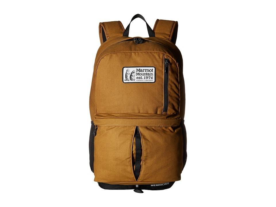 Marmot - Mendocino Daypack (Waxed Field Brown) Day Pack Bags