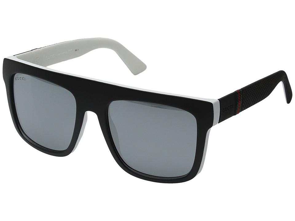 Gucci GG 1116S Matte Black Fashion Sunglasses