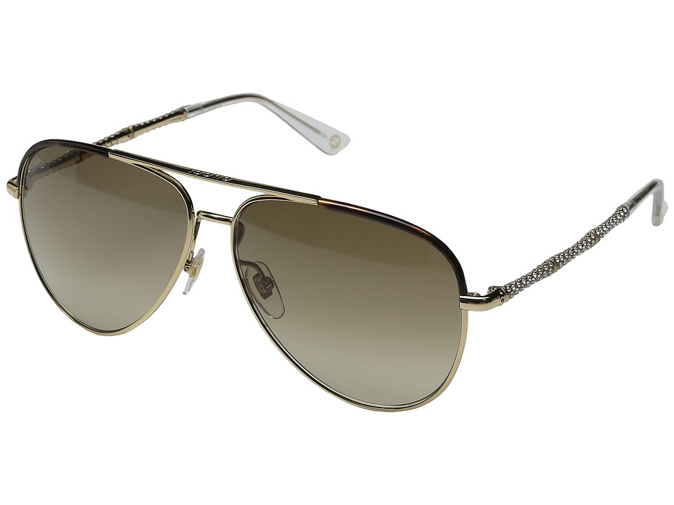 Gucci GG 4276NS Gold Fashion Sunglasses