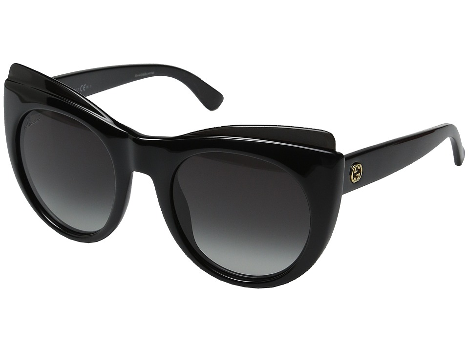 Gucci GG 3781S Shiny Black Fashion Sunglasses
