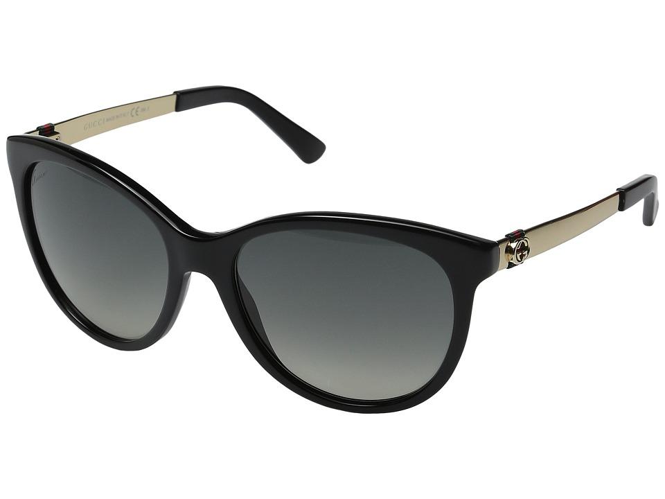 Gucci GG 3784S Black/Gold Fashion Sunglasses