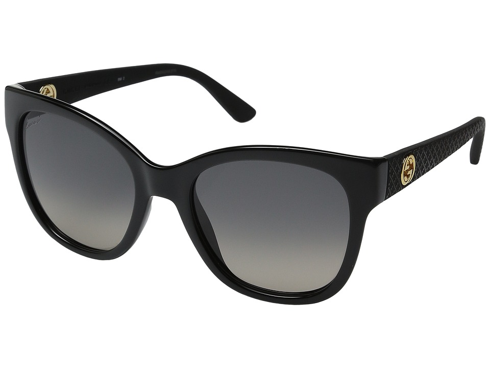 Gucci GG 3786S Black Rubber Fashion Sunglasses